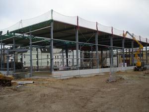 Bau Produktionshalle in Crimmtischau - Mugler Masterpack