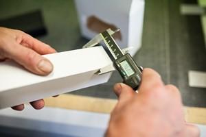 Abmessung einer Faltschachtel - Mugler Masterpack GmbH