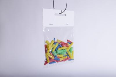 Eine Kunststoffverpackung mit Beutelreiter aus KArton - Mugler Masterpack GmbH