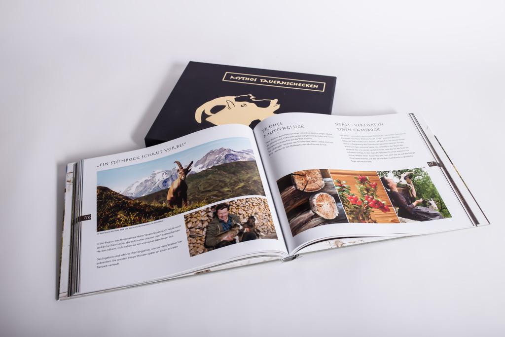 Buch Mythos Tauernschecken mit Festeinband - Mugler Masterpack GmbH