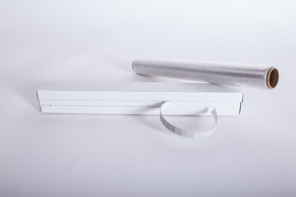 Faltschachtel mit Aufreißperforation und PE-Säge - Mugler Masterpack GmbH