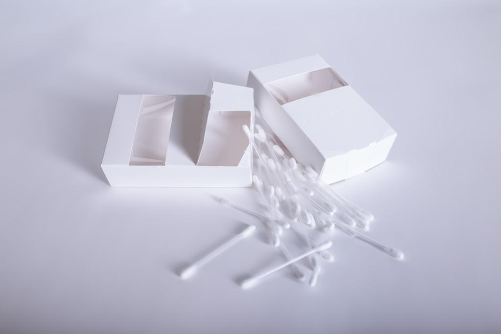Faltschachtel mit Sichtfenster und Aufreißperforation - Mugler Masterpack GmbH