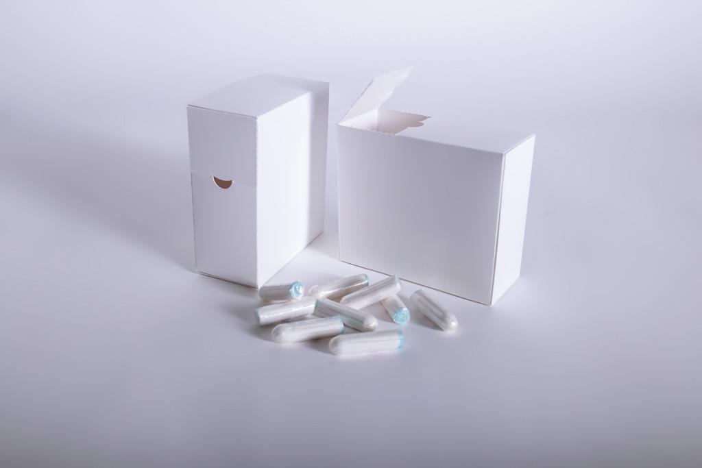 Verpackung für Hygieneartikel mit Dosieröffnung - Mugler Masterpack GmbH