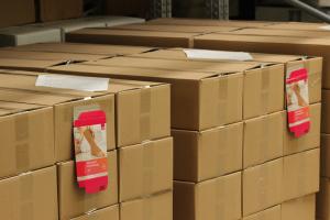 Paletten mit kommissionierter Ware - Mugler Masterpack GmbH