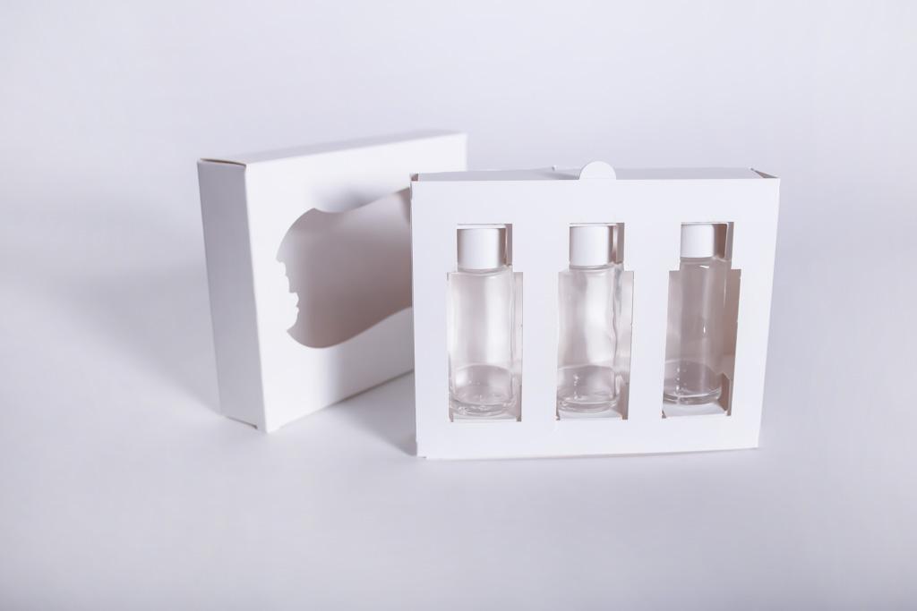 Eine Flacon-Verpackung - Mugler Masterpack GmbH