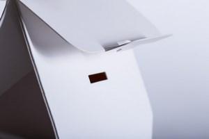 Verschluß einer Giebelfaltschachtel - Mugler Masterpack GmbH