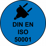 Logo ISO 50001 Mugler Masterpack GmbH